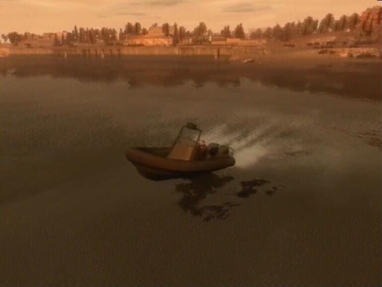 ускорить лодку в вайс сити