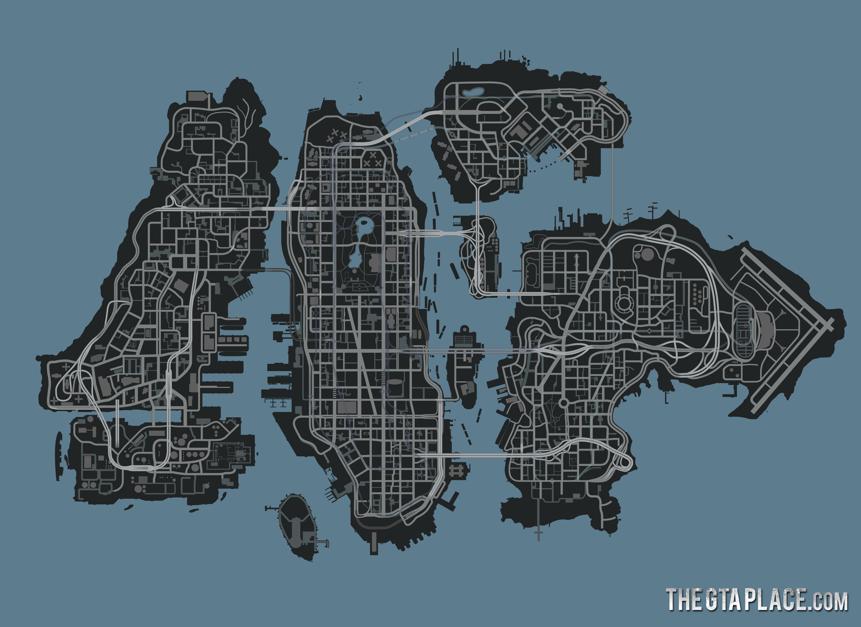 gta liberty карта: